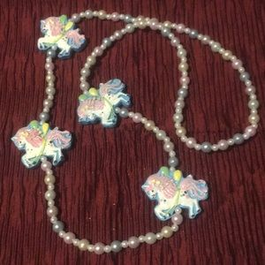 Long adorable pony parade beads